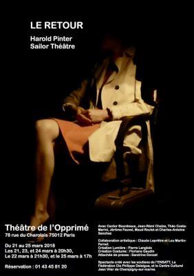 Le Retour - Harold Pinter - théâtre Opprimé