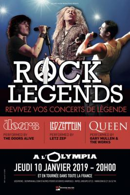 Rock legends olympia