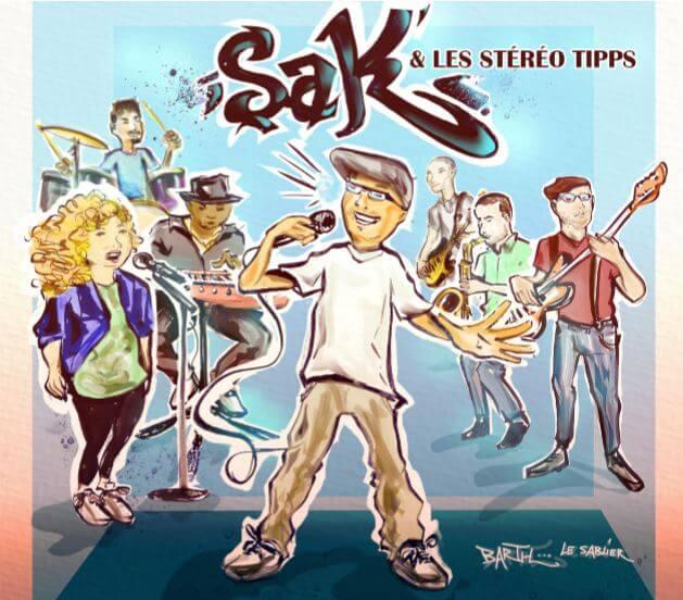 Sak' et les Stéréo Tipps