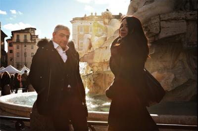 Sarah Lancman et Giovanni Mirabassi