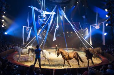 Spectacle cirque Alexis Gruss - Pégase et Icare