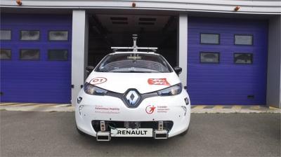 Vehicule autonome à la demande Rouen
