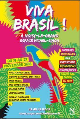 Affiche festival Viva brasil