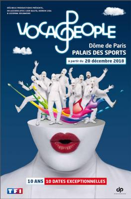 Affiche Voca People - Palais des sports Paris