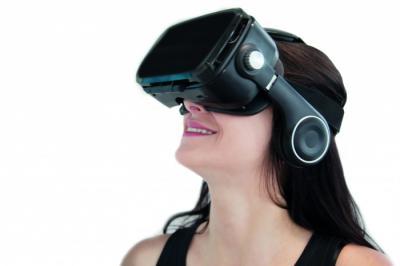 VR1 casque de réalité virtuelle d'orange