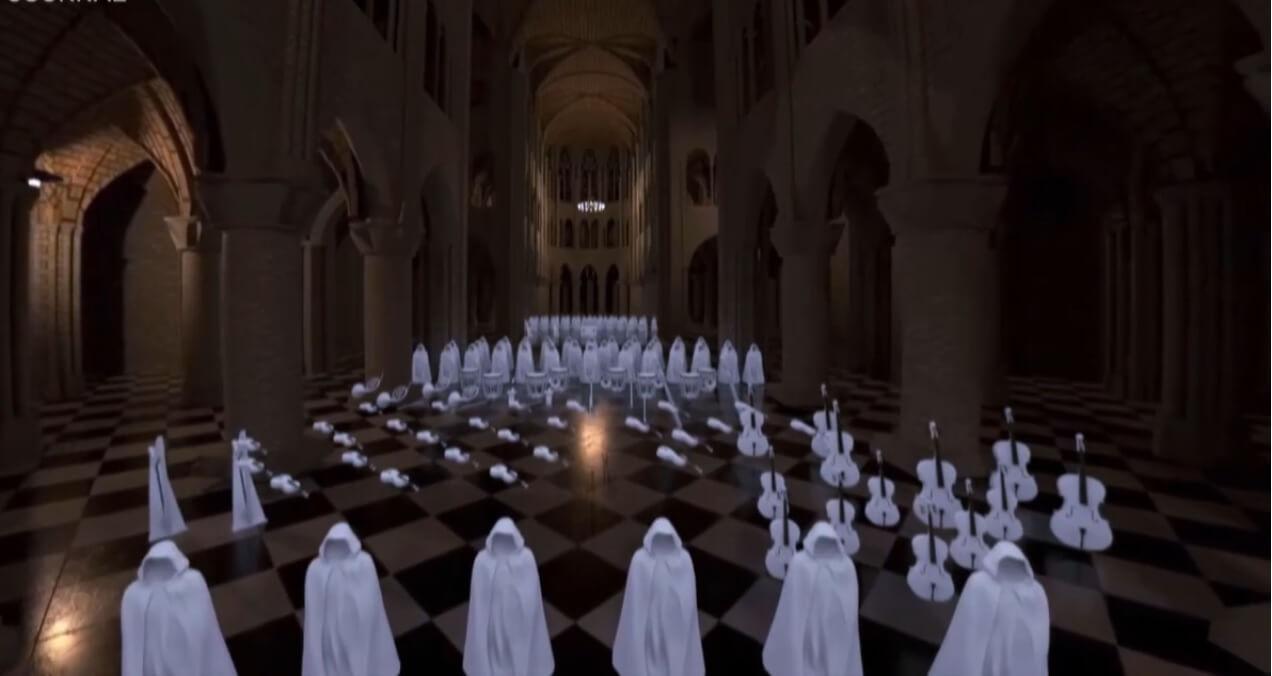 Accoustique Notre Dame de Paris