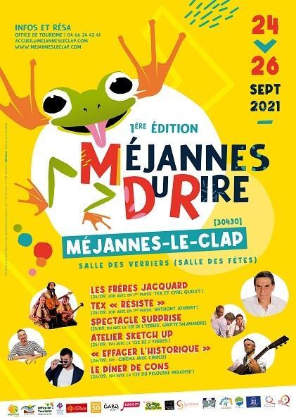 Affiche Méjannes le Clap 2021