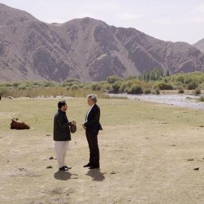 Afganistan BHL avec Ahmad Massoud, le fils du Commandant Massoud UAIDM_Photogrammes