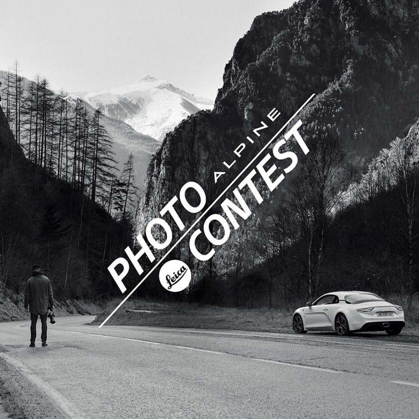 Alpine concours photo