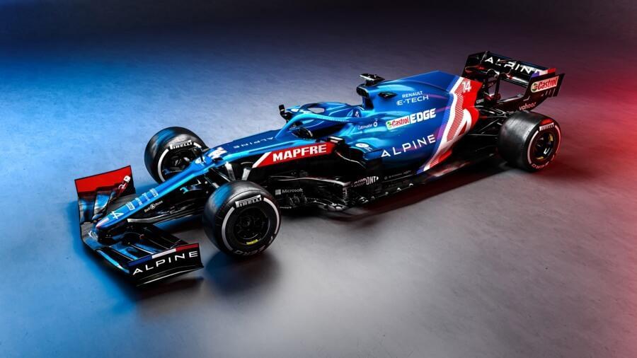 Alpine F1 - A521