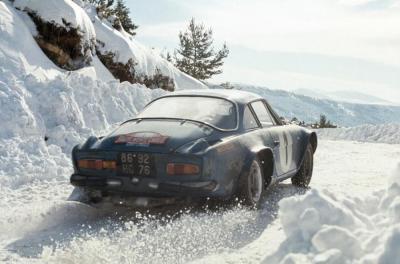 berlinette A110 - Monte Carlo