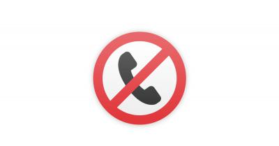 Blocage d'appels indésirables téléphone Orange