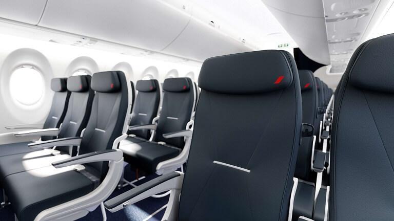 Cabine Air France A220-300