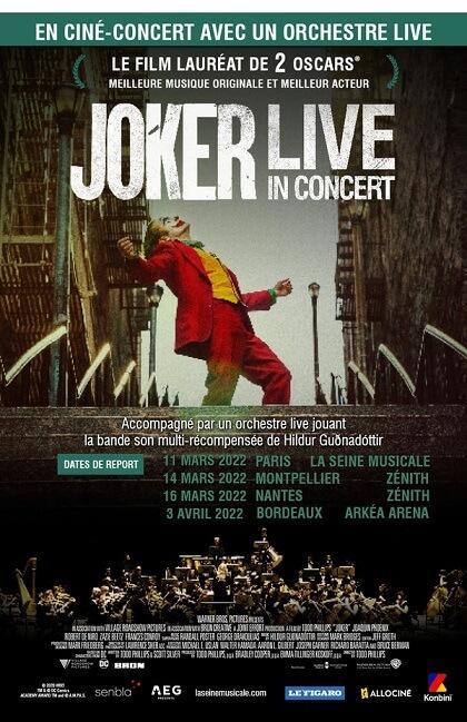 Ciné concert Joker - Seine Musicale (report 2022)