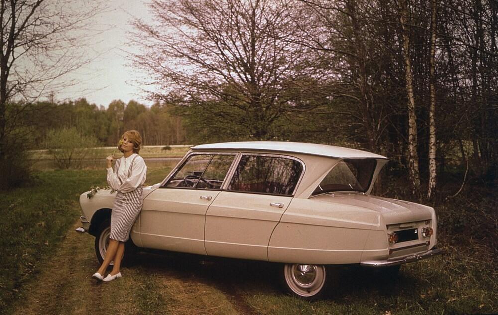 Citroën Ami 6 (crédit Georges Guyot)