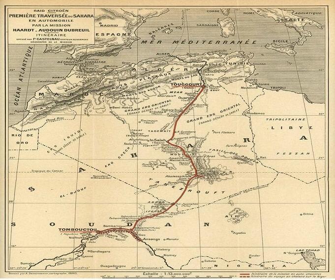 Citroen Scarabée d'or ë-popée Sahara