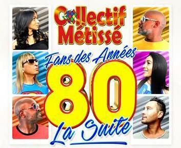 Collectif Métissé - cover Fan des années 80, la suite