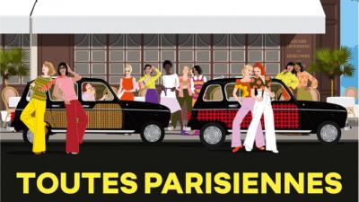 Compilation Toutes parisiennes - Renault 4L