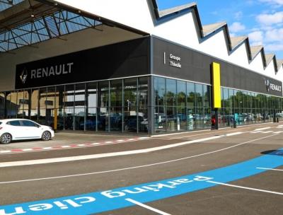 Concept store concession Renault Saint Etienne