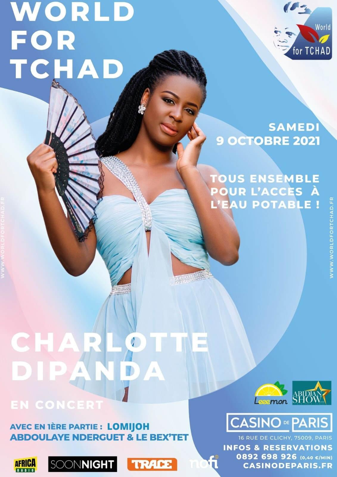 Concert Charlotte Dipanda