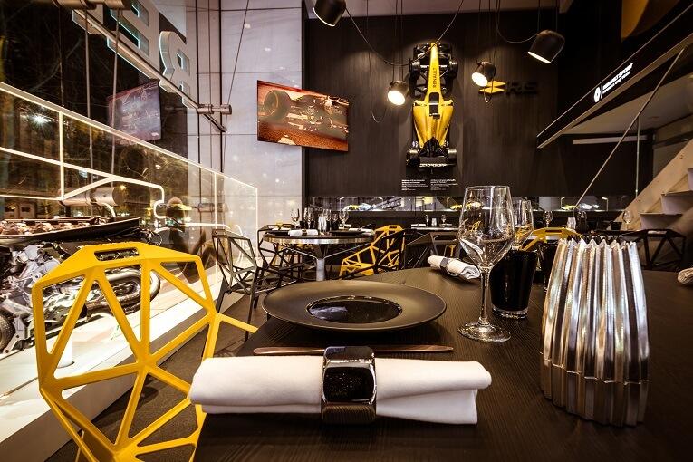 Corner food à l'atelier Renault