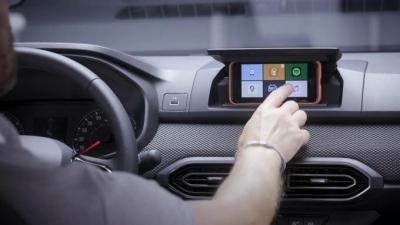Dacia Sandero - écran smartphone