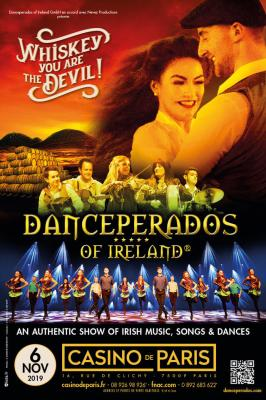 Danceperados of ireland - Casino de Paris