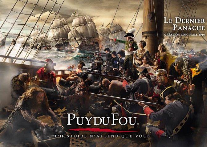 Attraction Dernier panache au Puy du Fou