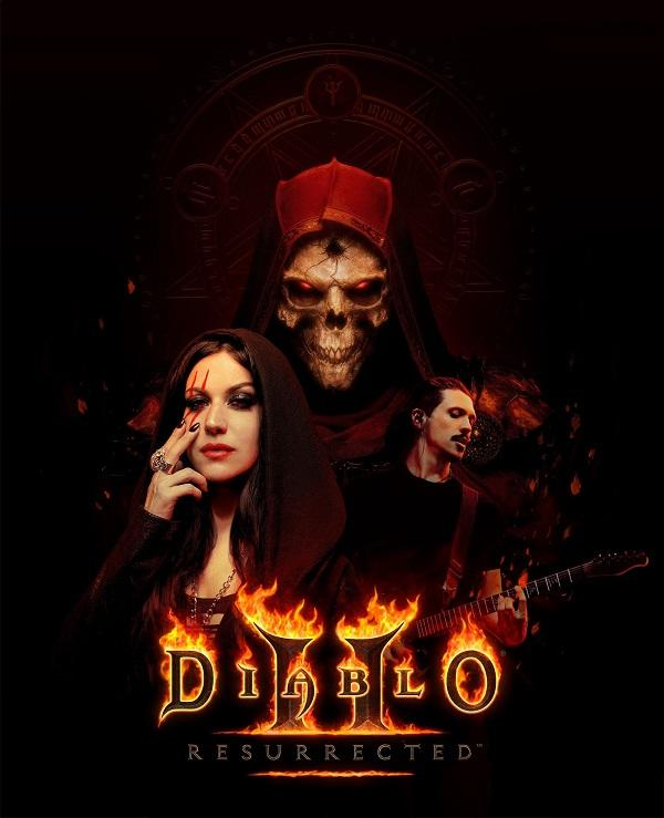 Diablo II Resurrected - Cristina Scabbia et Mark The Hammer