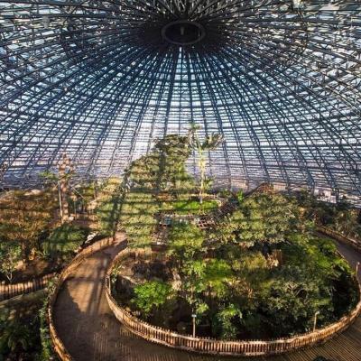 Dôme équatorial au zoo de Beauval