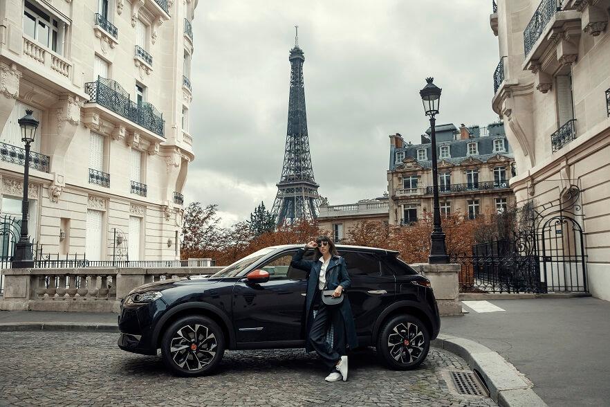 DS 3 Crossback Ines de la Fressange Paris (tour Eiffel)