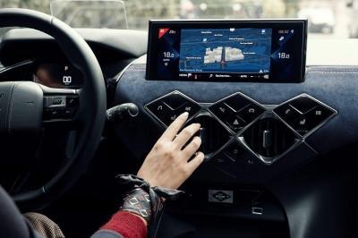 DS3 écran tactile