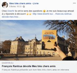 Ecrivain François Rantrua