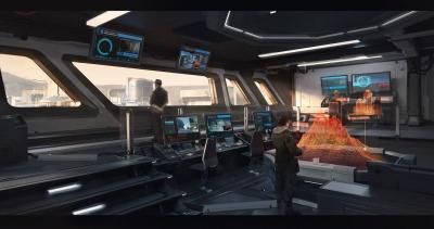 Elite Dangerous Horizons - Security room