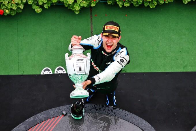 Esteban Ocon - victoire F1