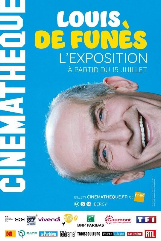 Exposition Louis de Funès - cinémathèque