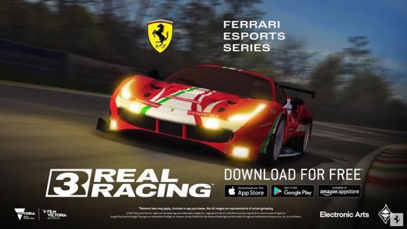 Ferrari Mobile Esports Series - Real Racing 3