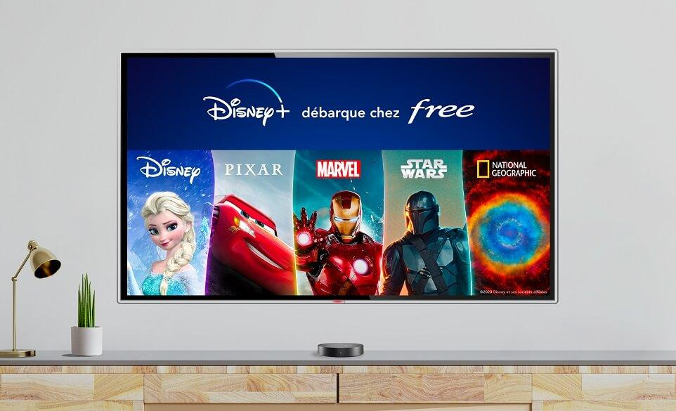 Free - Disney+ sur Freebox