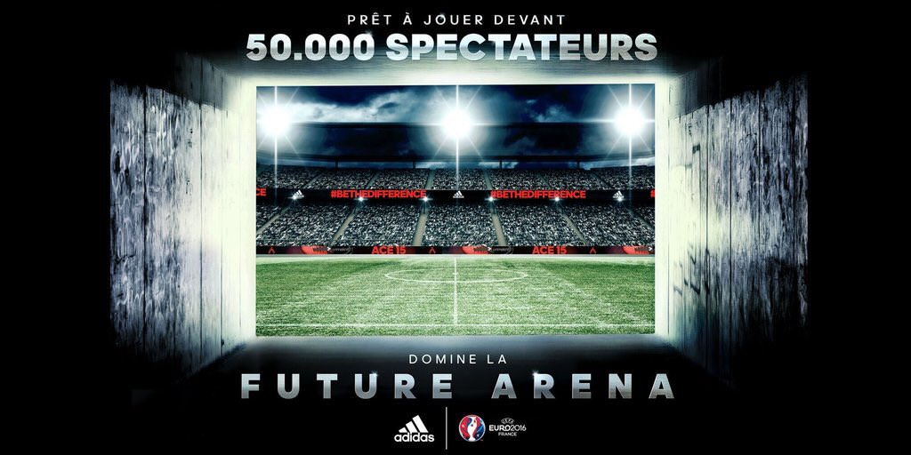 Stade virtuel Future Arena Adidas