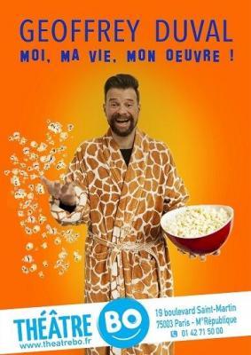 Geoffrey Duval - Théâtre Bo Saint Martin