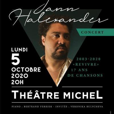 Jann Halexander - 17 ans théâtre Michel