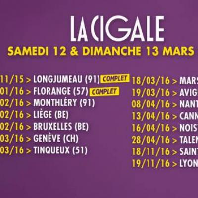 Jarry : dates tournée spectacle Atypique