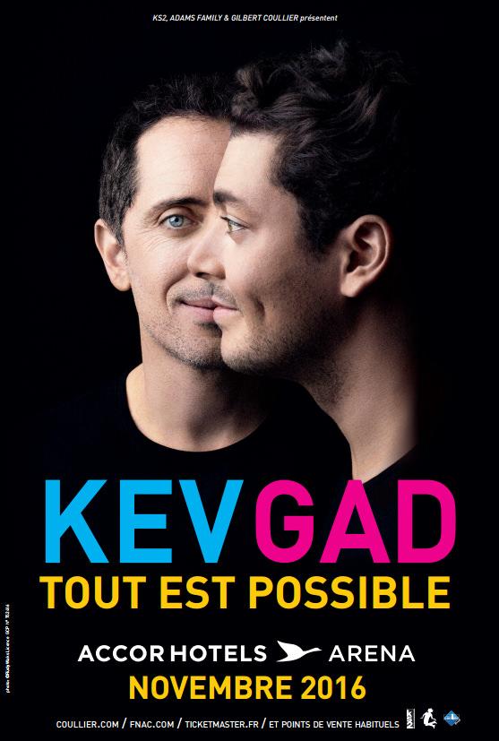 Kev Adams Gad Elmaleh - spectacle Tout est possible