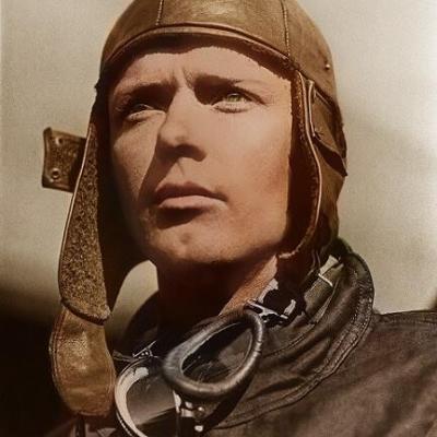 L'aviateur Charles Lindbergh - grand père d'Isabelle