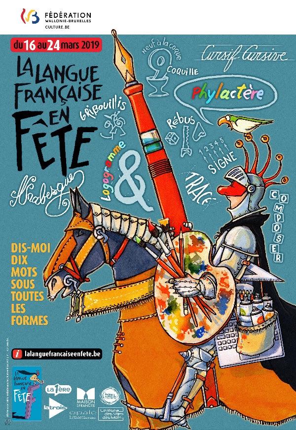Langue française en fête 2019 - Belgique