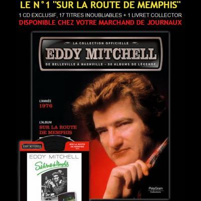 Magazine collection Eddy Mitchell - Sur la route de Menphis