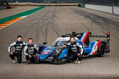 Matthieu Vaxiviere, André Negrão et Nicolas Lapierre - Alpine A480
