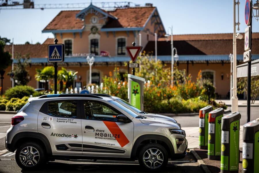Mobilize Share - voiture autopartage Arcachon