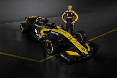 Monoplace Renault Sport F1 saison 2018