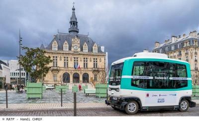 Navette autonome Vincennes RATP